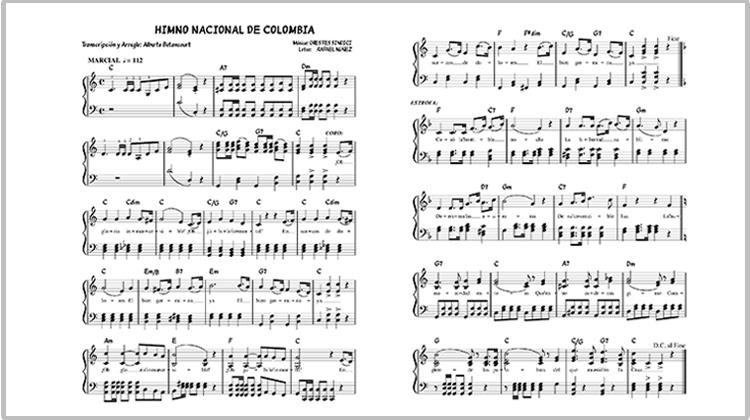 National Anthem of the Republic of Colombia