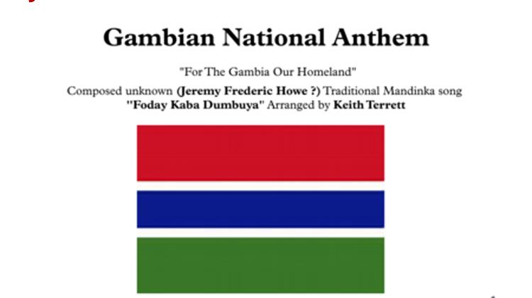 For The Gambia Our Homeland