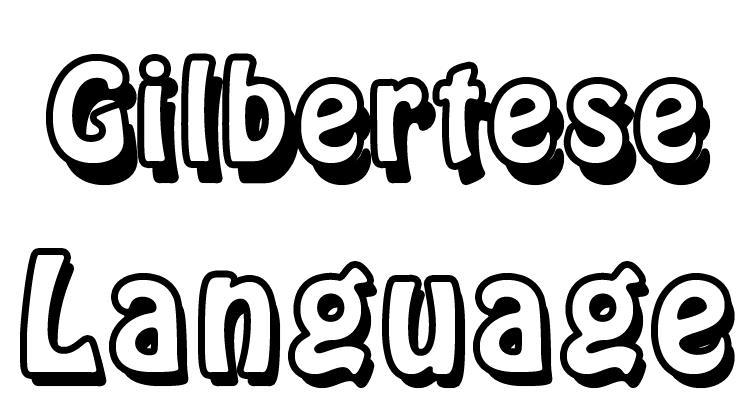 Gilbertese