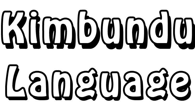 Kimbundu