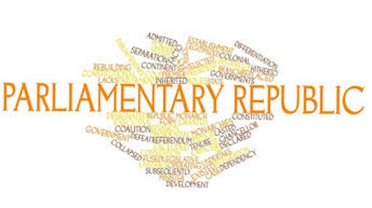 Parliamentary republic
