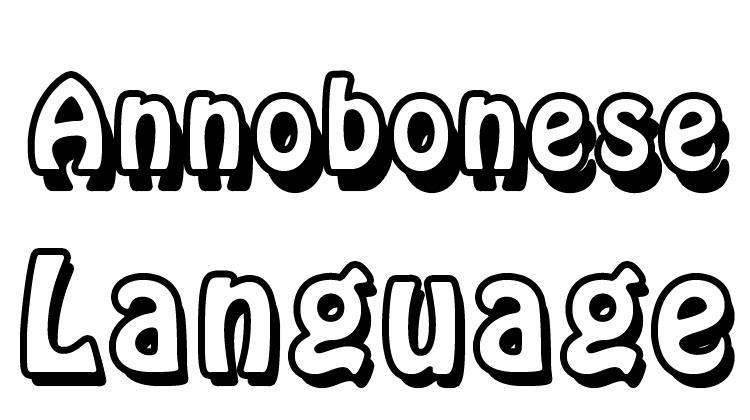 Annobonese