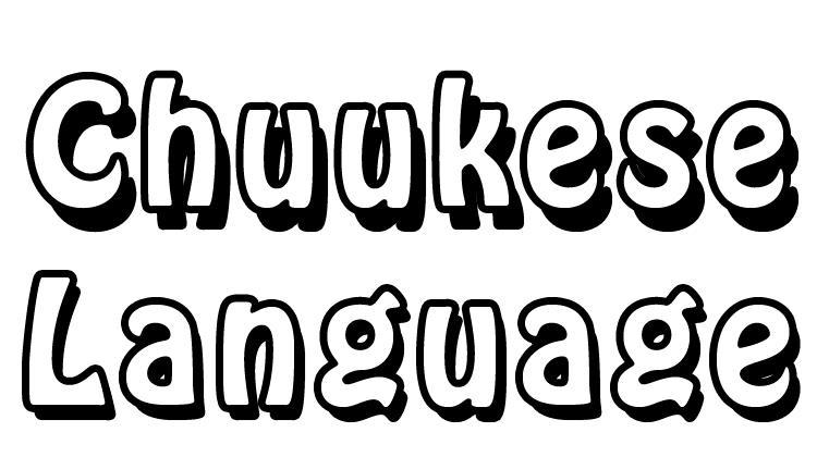 Chuukese