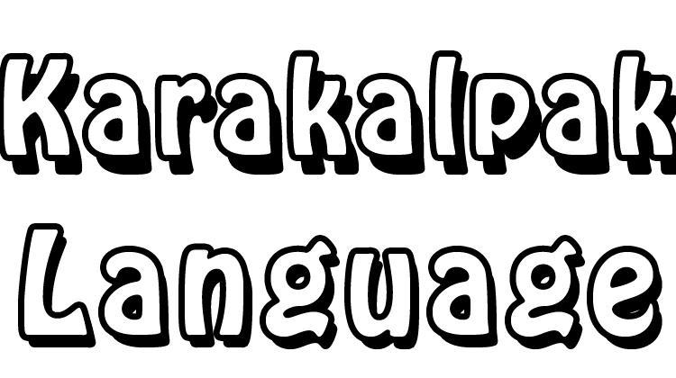 Karakalpak