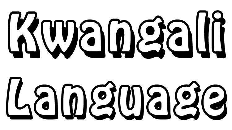 Kwangali
