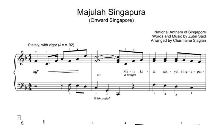 Majulah Singapura