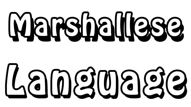 Marshallese