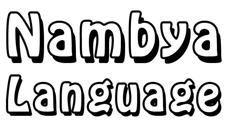 Nambya