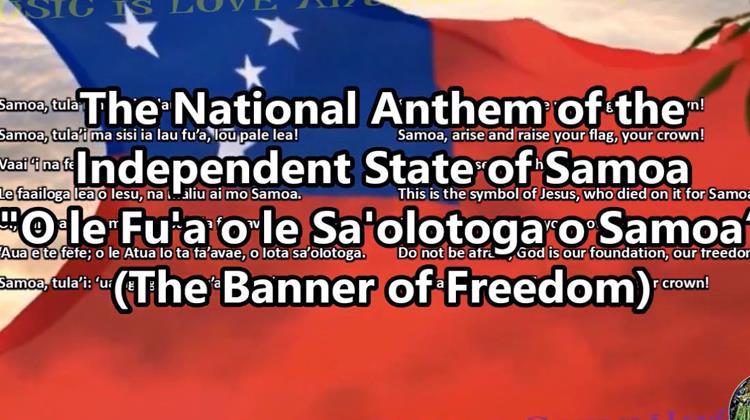 O le fuʻa o le saʻolotoga o Samoa