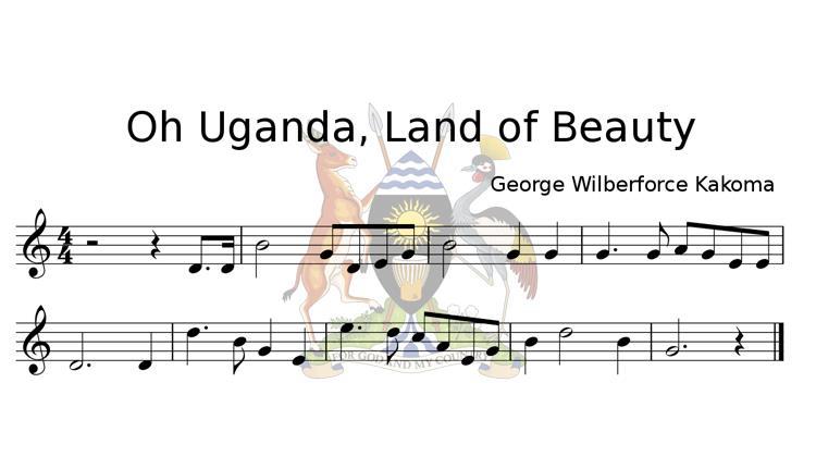 Oh Uganda, Land of Beauty
