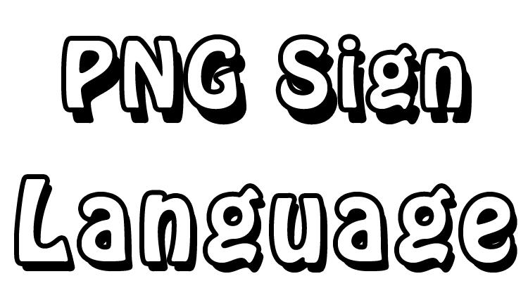 PNG Sign