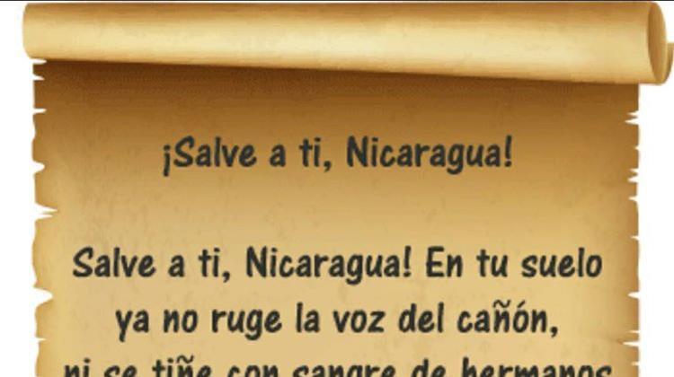 Salve a ti, Nicaragua