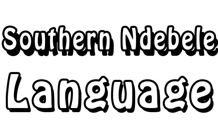 Southern Ndebele