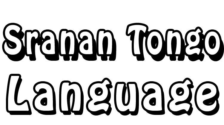 Sranan Tongo