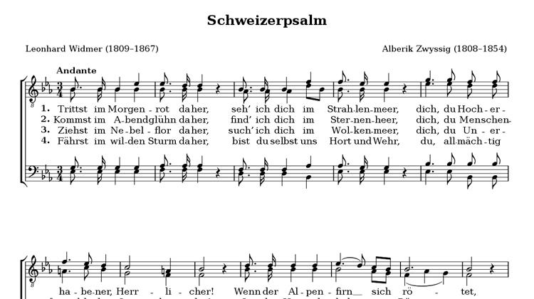 Swiss Psalm