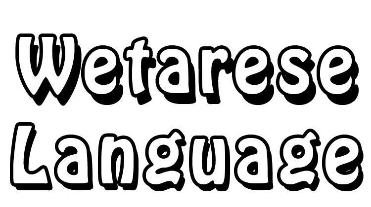 Wetarese