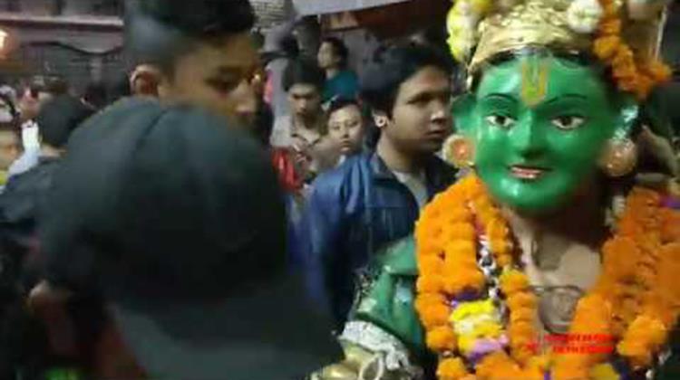 Nerdevi Jatra Pahachare Festival 2075 Day 1