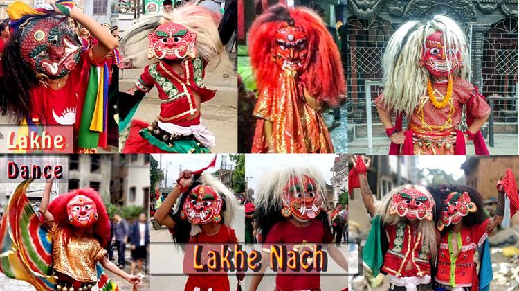 lakhe dance