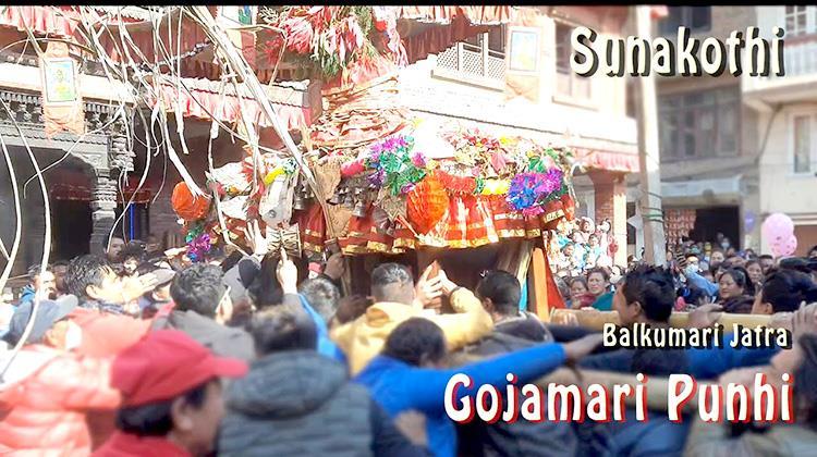 Gojamari Punhi, Sunakothi