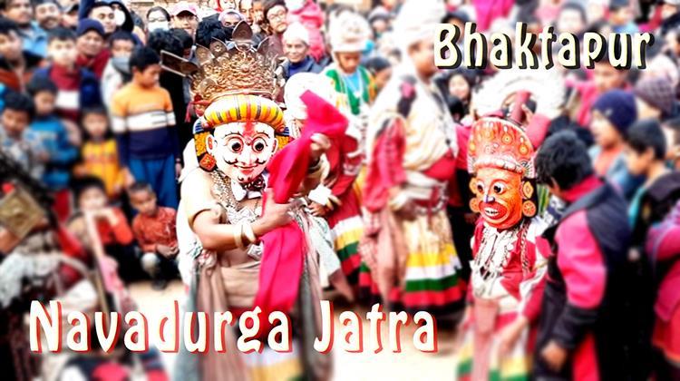 Navadurga Jatra, Bhaktapur 2077
