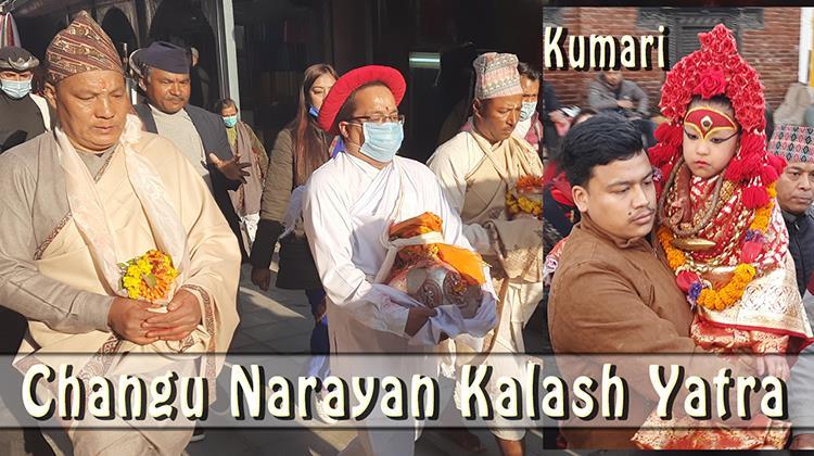 Changu Narayan Kalash Yatra