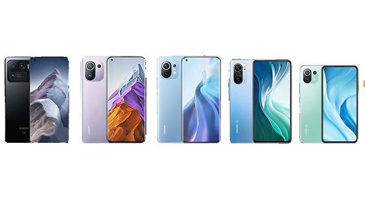 Xiaomi Mi 11 11 lite 11i 11 pro